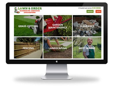 Lawn and order - Boxed Up Media - Chelmsford Featured Desktop