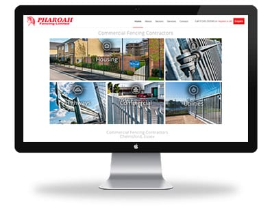 Pharoah Fencing - Boxed Up Media - Chelmsford - Feature Desktop