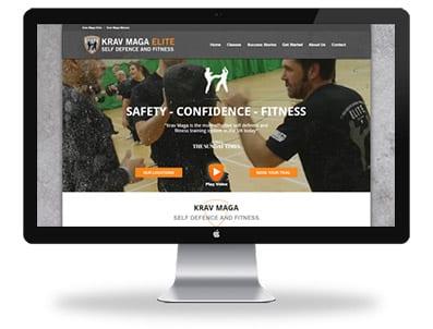 Krav Maga Elite - Web Design Chelmsford