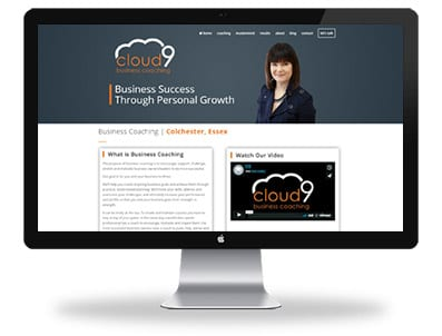 Cloud9 Business Coaching - Website Design Essex