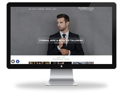 Tailored image responsive website design Chelmsford