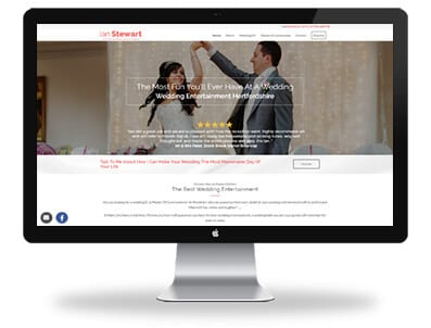 boxed_up_media_responsive_website_design_ian_stewart_wedding_dj